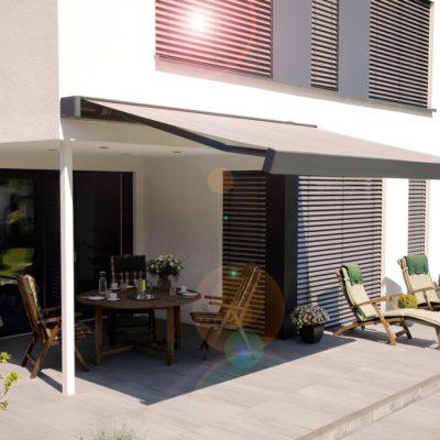 Stilvolle Terrassen-Markise