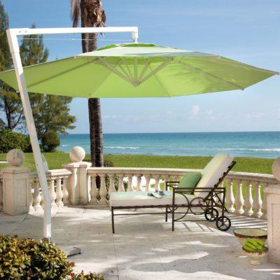 Sonnenschirm in grün