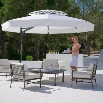 Caravita Sonnenschirm mit Winddach